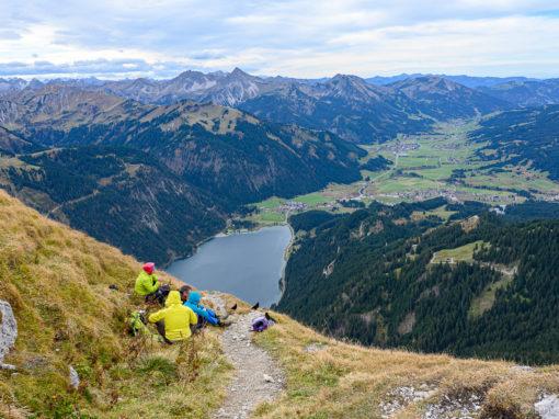 Rote Flüh | Oktober 2019 | Friedberger Klettersteig